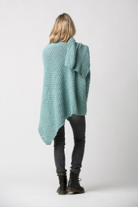 Omslagdoek dames – Vintage Green