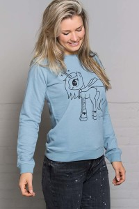 sweater-unicorn-steel-blue-zijkant