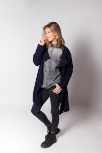 donkerblauw vest – midnight blue