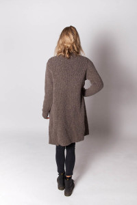 wollen vest taupe – talpa taupe